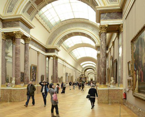Louvre_Müzesi_sergi